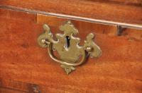18th Century Red Walnut Chest on Stand (3 of 9)