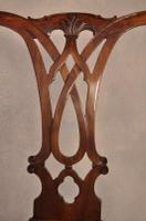 Large 18th Century Mahogany Chippendale Armchair (2 of 8)
