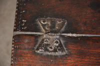 Early 18th Century Dated Oak Box (2 of 8)