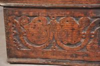 Early 18th Century Dated Oak Box (4 of 8)