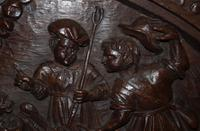Large 16th Century Oak Flemish Carved Panel (3 of 4)