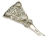 Scottish Sterling Silver Caddy Spoon - George V 1926 (7 of 9)
