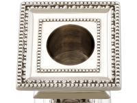 Sterling Silver Candlesticks - Antique Edwardian 1901 (8 of 12)