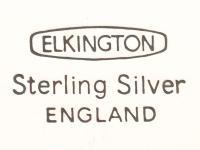 Sterling Silver Tray by Elkington & Co Ltd - Vintage 1966 (7 of 9)