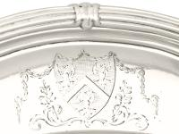 Sterling Silver Serving Dish by Paul De Lamerie - Antique George II (5 of 10)