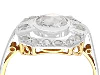 0.61ct Diamond & 18ct Yellow Gold Dress Ring c.1930 (2 of 9)