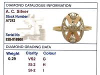 0.29ct Diamond & 14ct Rose Gold Dress Ring c.1930 (6 of 9)