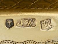 Sterling Silver Gilt Purse Vinaigrette - Antique William IV (10 of 12)