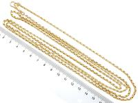 Antique 9ct Yellow Gold Longuard / Watch Chain c.1890 (6 of 12)