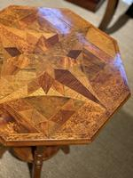 William Norrie New Zealand Inlaid Table c.1900 (6 of 9)