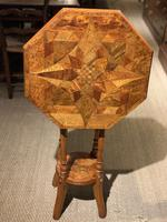 William Norrie New Zealand Inlaid Table c.1900 (5 of 9)