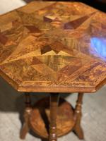 William Norrie New Zealand Inlaid Table c.1900 (2 of 9)