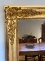 Tall Narrow Gilt Mirror c.1850 (3 of 7)