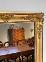 Tall Narrow Gilt Mirror c.1850 (2 of 7)
