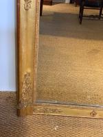 Tall Narrow Gilt Mirror c.1850 (6 of 7)