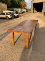 Elm Farmhouse Table 301cm (2 of 11)
