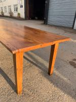 Elm Farmhouse Table 301cm (3 of 11)