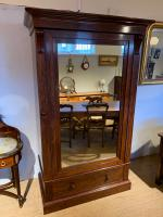 Victorian Mahogany Linen Press (2 of 7)