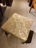 Late 19th Century Walnut Foot Stool (4 of 5)