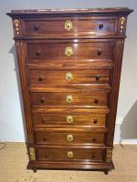 Tall Narrow Chest of Drawers (2 of 13)