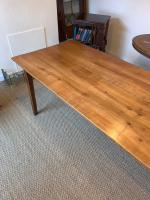 Cherry Wood Farm Table c.1860 (5 of 9)