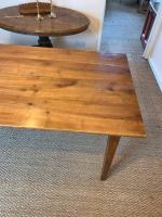 Cherry Wood Farm Table c.1860 (3 of 9)