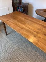 Cherry Wood Farm Table c.1860 (4 of 9)