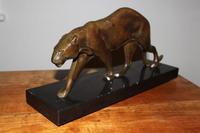 Art Deco Bronze Panther, Maurice Prost (5 of 5)