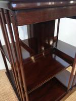 Mahogany Revolving Bookcase c.1910 (3 of 3)