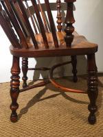 Yew & Elm Windsor Chair c.1910 (5 of 11)