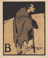 An Alphabet  - Lithographs by William Nicholson 1898