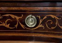 19th Century Mahogany Kidney Shaped Desk by Maple & Co (5 of 5)