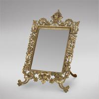 19th Century French Table Mirror (2 of 3)
