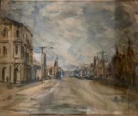 Nornie Gude - Watercolour - Australian Town (2 of 3)