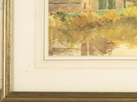 Henry Stannard - Watercolour - Lower Slaughter, Gloucestershire (3 of 3)