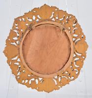 Pair of Italian Carved Giltwood Circular Mirrors (4 of 4)