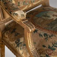 Pair of French Louis XVI Late 19th Century Armchairs (5 of 6)