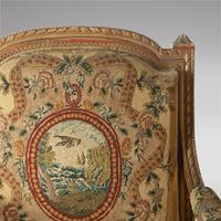 Pair of French Louis XVI Late 19th Century Armchairs (4 of 6)