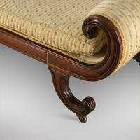 Regency Mahogany Daybed / Chaise Lounge (2 of 3)