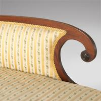 Regency Mahogany Daybed / Chaise Lounge (3 of 3)