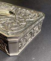Art Nouveau Style Silver Jewellery Box (5 of 6)