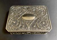 Art Nouveau Style Silver Jewellery Box (2 of 6)