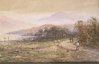 M D Ansell - Watercolour - Scottish Loch (5 of 5)
