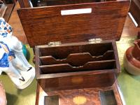 Oak Desk Standish / Stationary Box
