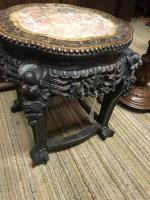 Oriental Marble Top Ornate Table (6 of 7)