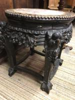 Oriental Marble Top Ornate Table (7 of 7)