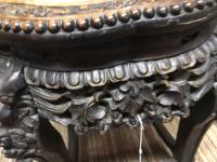 Oriental Marble Top Ornate Table (4 of 7)