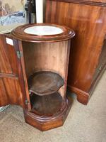 Circular Fluted Pot Cupboard C.1860 (5 of 7)