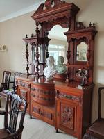 Top Quality Red Walnut Sideboard c.1870 (2 of 6)