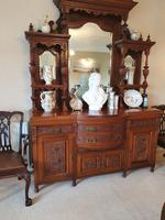 Top Quality Red Walnut Sideboard c.1870